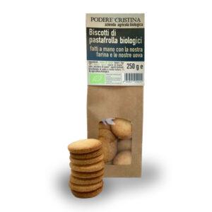 Biscotti di pastafrolla biologici